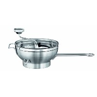 Rosle Stainless Steel Passetout/Food Mill with 2 Handles and Sieve Discs 22cm