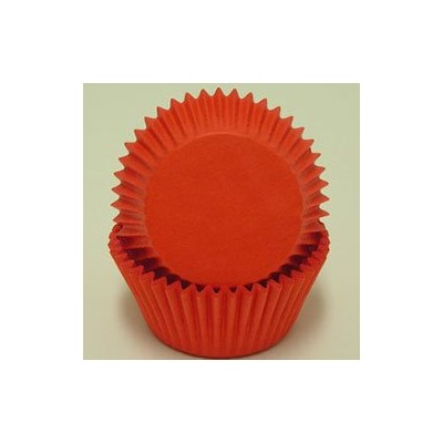 Oasis Supply Baking Cups - Solid - Red - Standard [Kitchen] by Oasis Supply