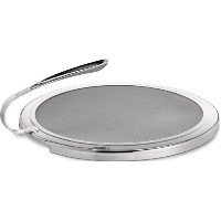All-Clad T187 Stainless Steel Mesh Splatter Screen with Curved Handle / Cookware, 13-Inch, Silver...