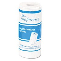 Perforated Paper Towel Roll, 11 x 8 4/5, White, 85/Roll, 15/Carton (並行輸入品)