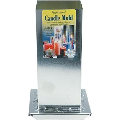 "Professional Candle Mold Metal Square-2-3/4""X6-1/2"" (並行輸入品)"