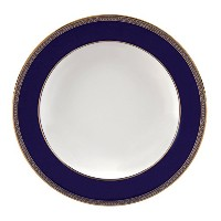 Renaissance Gold Rim Soup Plate 9 by Wedgwood