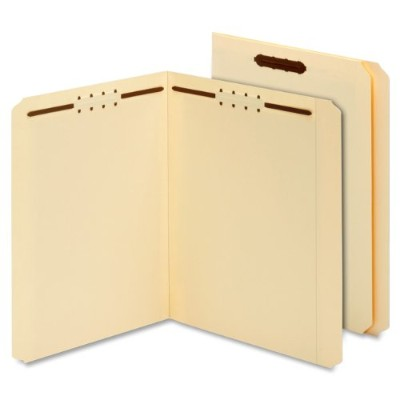 Manila Folders, Two Fasteners, Straight, Letter, 50/Box (並行輸入品)