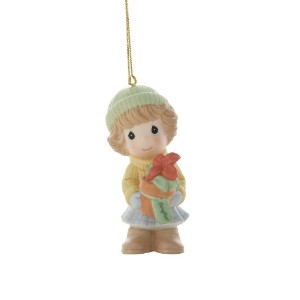 "Precious Moments ""Daughter, Your Beauty Radiates From Within"", Christmas Ornament by Precious..."