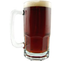 German Style Extra Large Glass Beer Mug - 34 oz (1) by Anchor Hocking