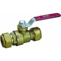 "Forged Brass Ball Valve Compression End-3/4"" COMP BALL VALVE (並行輸入品)"