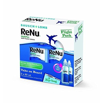 Renu Multiplus Solution for Soft Contact Lenses by Bausch & Lomb