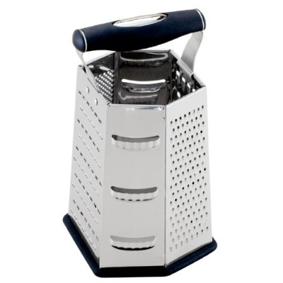 HIC Multi-Face Grater, 9-Inch, Stainless Steel by HIC Harold Import Co.