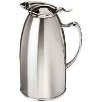 Winco VSS-508 Stainless Steel Lined Beverage Server, 20-Ounce, Satin Finished by Winco