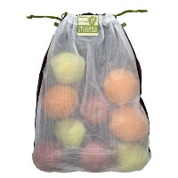 ChicoBag Produce Stand rePETe Mesh (Recycled PET) Reusable Produce Bags (Set of 3) by ChicoBag
