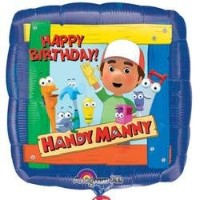 18 Inch Handy Manny Foil Birthday Balloon by Anagram