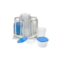 Spin 'N' Store Revolving Food Storage System 49 Pieces by Samra