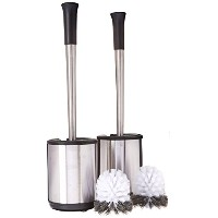 Polder Stainless Steel Toilet Brush Caddy, by Polder