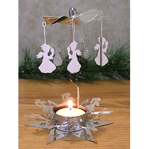 Spinning Angels Candle Holder with Starベーススカンジナビアスタイル