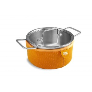 Kuhn Rikon Cook and Serve Colori Casserole 2-Quart オレンジ 4262KR