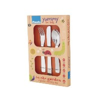 Amefa 3 Piece Kids Flatware Set in the Garden