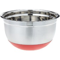 ExcelSteel 298 5-Quart Stainless Steel Non Skid Base Mixing Bowl by ExcelSteel