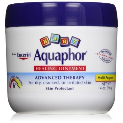 Aquaphor Baby Healing Ointment Diaper Rash and Dry Skin Protectant, Economy Pack 14 Oz Each -2...