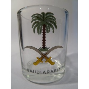 Saudi Arabia Shot Glass by World By Shotglass