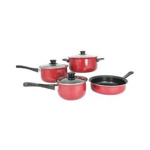 Imperialホームmw1204カーボンスチール7 Pieces Nonstick Cookware Set by Imperialホーム