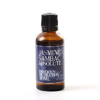 Jasmine Sambac Absolute Oil Dilution - 50ml - 3% Jojoba Blend