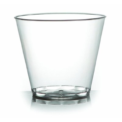 Fineline 9oz Old Fashioned Tumblers ( 500)のケース( 20x 25)、クリア
