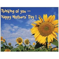 Sunflower Happy Mothers Day Refrigerator Magnet by www.SassyXpressions.com by www.SassyXpressions...