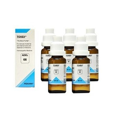 "5 x ADEL GERMANY ADEL 66. TOXEX."" Shipping Only By - USPS / FedEX "" [並行輸入品]"