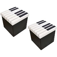 YOUKOU HOME スツールボックス Piano STOOL BOX HX033S 2個セット