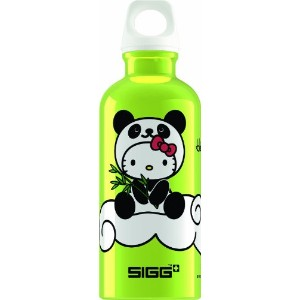 SIGG Hello Kitty Panda Water Bottle 水筒 400ml ハローキティ ライム