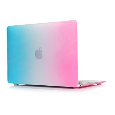 MacBook Pro(2016 release) 13-inch Case, Soundmae Matte Rubberized Rainbow Colorful Hard Cases Cover...
