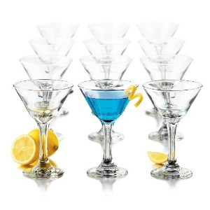Libbey 7.5-Ounce Martini Party Glass, 12-Piece by Libbey