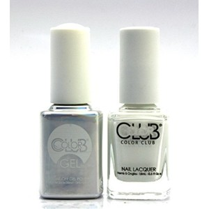 Color Club Gel FRENCH TIP Pastel Color Club Gel + Lacquer Duo by Color Club