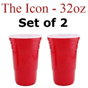 Red Cup Living 32 Oz. Reusable Red Cup - Icon XL (Set of 2) by Red Cup Living