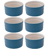 Mrs. Anderson's Round Souffle, Set of 6, 4-ounce by HIC Porcelain
