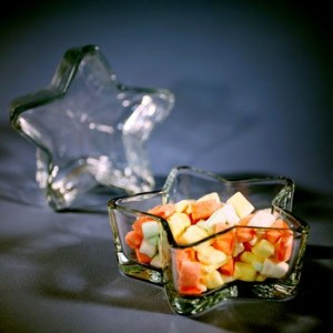 Libbey 6-inch Star-shaped Candy Bowl by Libbey