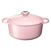 Le Creuset ル・クルーゼ シグニチャー ココット・ロンド 16cm シフォンピンク