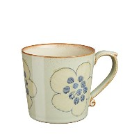 Denby 300 ml Heritage Orchard Large Accent Mug, Green by Denby
