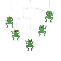 FLENSTED mobiles フレンステッド モビール The Happy Frog Mobile ハッピー フロッグ 北欧 インテリア 112a [並行輸入品]