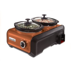 Crock-Pot  クロックポット SCCPMD1 Hook Up Double Oval Connectable Entertaining System 連結可能 2台同時調理鍋 【並行輸入品】...