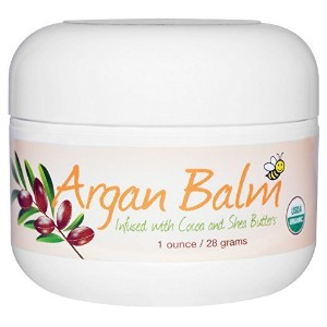 Argan Balm with Cocoa & Shea Butter, 1 oz (28 g) - Sierra Bees - UK Seller by Sierra Bees