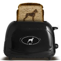 Pangea Brands TSTE-PET-BOX 2-Slice Pet Emblazing Toaster, Boxer by Pangea Brands