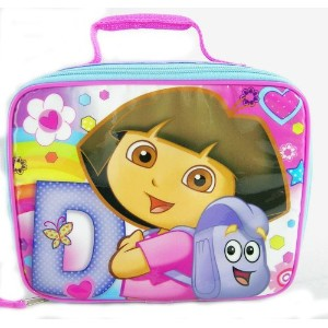 Dora the Explorer Dora & Backpack Rectangular Lunch Box by Nickelodeon