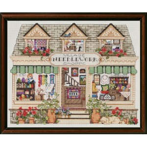 "Needlework Shoppe Counted Cross Stitch Kit-14""X11"" 14 Count (並行輸入品)"