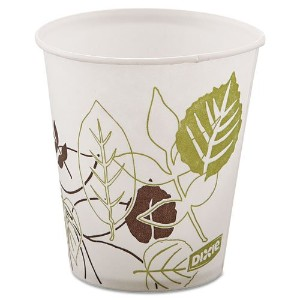 Dixie Pathways Wax Treated Paper Cold Cups, 5 oz, 100 per pack by Reg