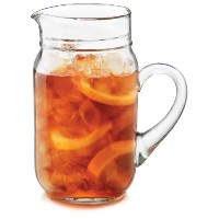 Libbey 82 oz. Country Folk Glass Pitcher by Libbey