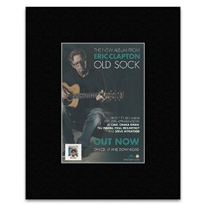 ERIC CLAPTON - Old Sock Mini Poster - 28.5x21cm