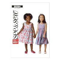Butterick Patterns 6004A Toddlers/ Childrens Dresses, Multi-Colour by Butterick Patterns