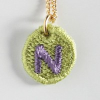 Embroidery Necklace コトダマ N
