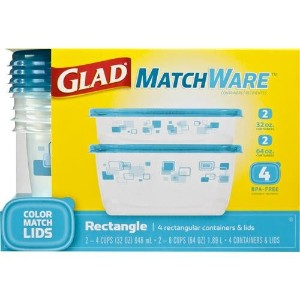 Glad MatchWare 4 ct長方形